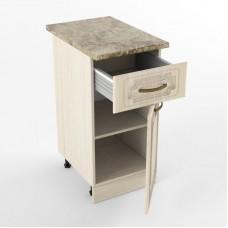 Кухонный модуль «Н 400 1 ящик 1 дверь Грецкий орех»