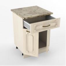 Кухонный модуль «Н 600 1 ящик 2 двери Грецкий орех»