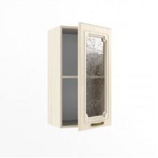 Кухонный модуль «В 400 стекло Грецкий орех»