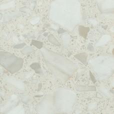 """Столешница """"Белые камушки"""" матовая (905М) 3050*600*26, R3"""